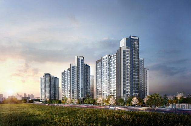 대우산업개발 '엑소디움 센트럴 동인' 견본주택 9일 개관