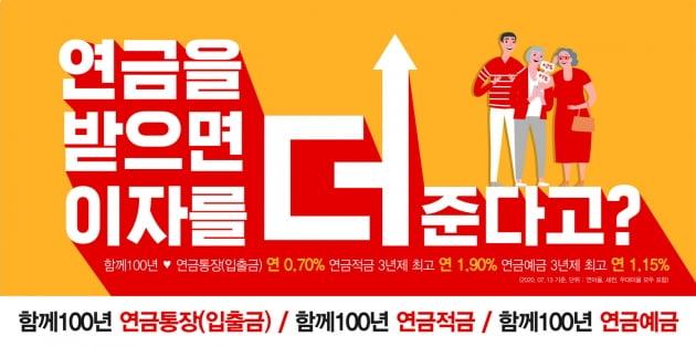 BNK경남은행, '함께100년 연금 패키지 상품' 출시
