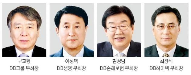김남호號 DB그룹 '새판 짜기'…부회장 4명 등 세대교체 인사