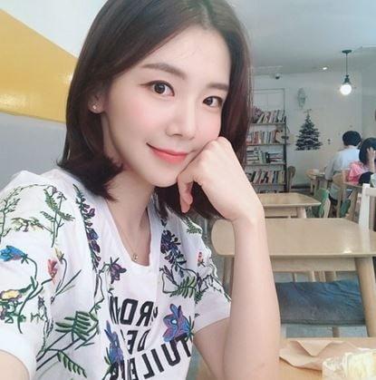박지희 아나운서 인스타그램 갈무리