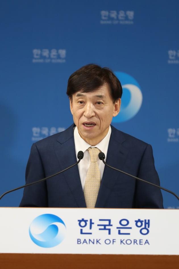 이주열 한국은행 총재가 16일 서울 중구 한국은행에서 열린 통화정책방향 기자간담회에서 발언하고 있다. (사진 = 한국은행)
