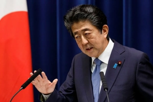 아베신조 일본 총리./사진=AP