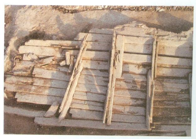 중국 산둥반도 봉래 앞바다에서 발굴된 고려배. 사진=윤명철 동국대 명예교수·국립 사마르칸트대 교수