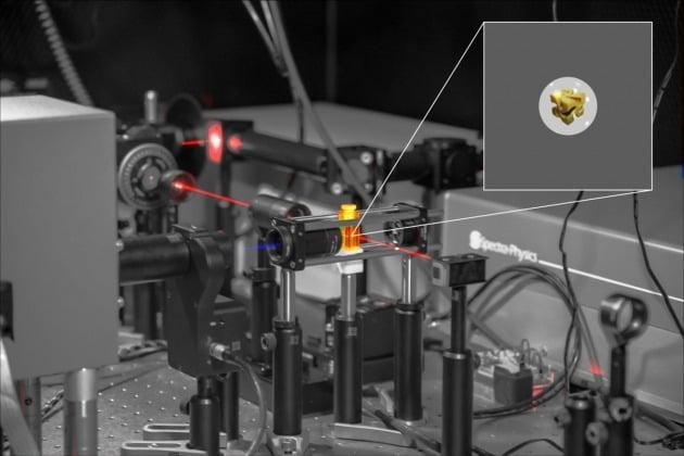 영국 배스대 연구진은 카이랄성을 가진 금 나노입자를 관찰했다. 그 결과 주변에 어떤 거울상 이성질체가 있느냐에 따라 나타나는 금 입자가 나타내는 광학적 성질이 다르다는 것을 확인했다.