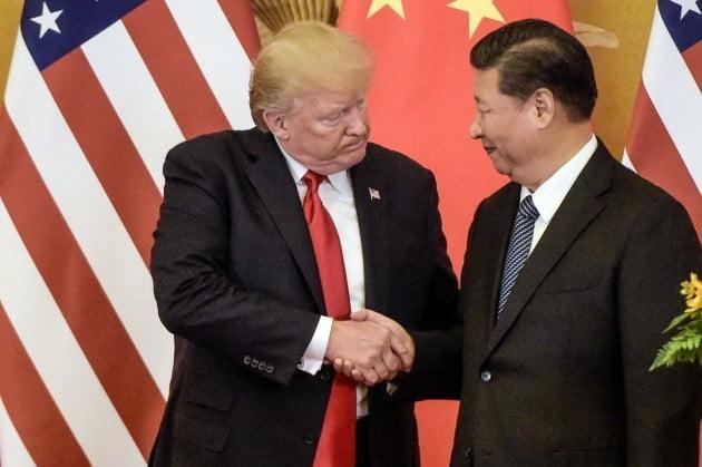 도널드 트럼프 미국 대통령(왼쪽)과 시진핑 중국 국가주석.사진=연합뉴스