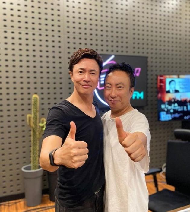 김정민, 박명수/사진='박명수의 라디오쇼' 인스타그램 캡처