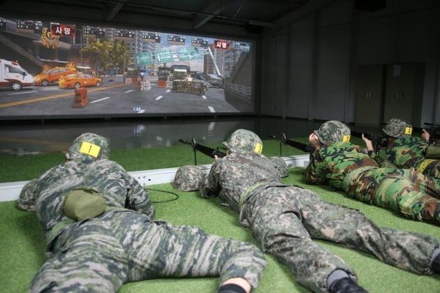 예비군 영상모의 상황조치사격. 사진=연합뉴스