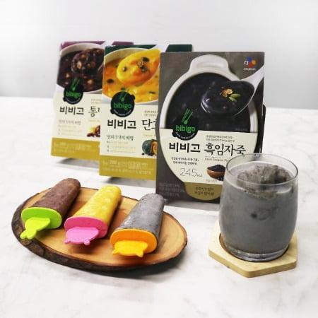 CJ제일제당은 할매입맛에 열광하는 현상을 반영해 여름 신메뉴로 '비비고 흑임자죽'을 출시했다.