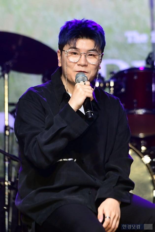[포토] 신용재, '솔로 첫 정규앨범으로 돌아왔습니다'