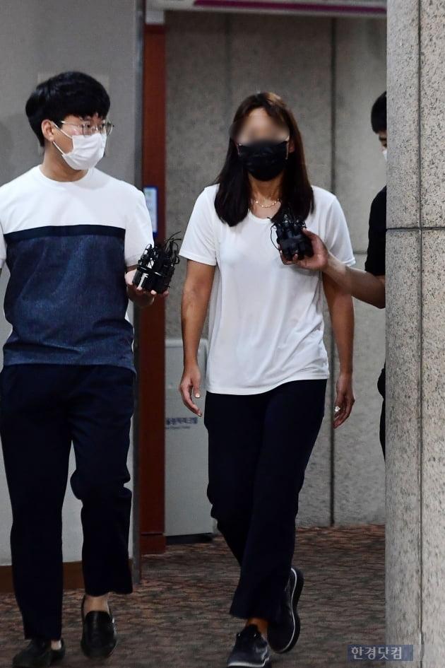 [포토] 고 최숙현 선수 가혹행위 가해자로 지목된 장윤정