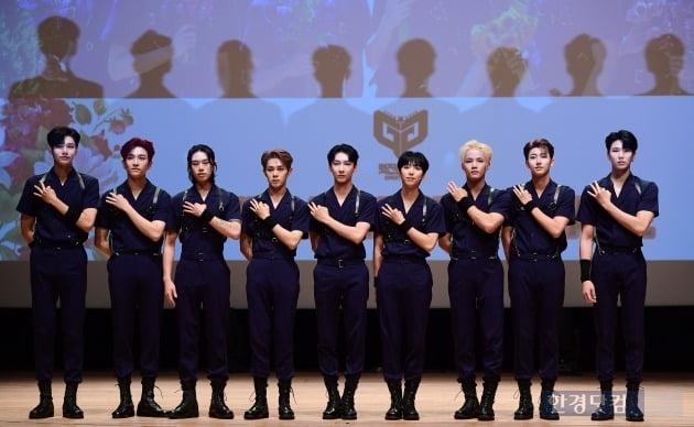 그룹 멋진녀석들 /사진=변성현 기자