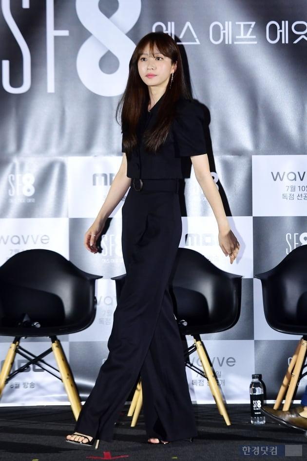 [포토] 안희연, '올블랙 카리스마'