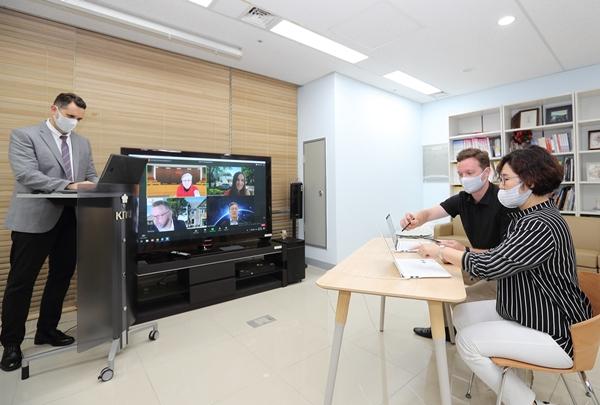 경북대, 'KNU 국제 온라인 컨퍼런스' 개최