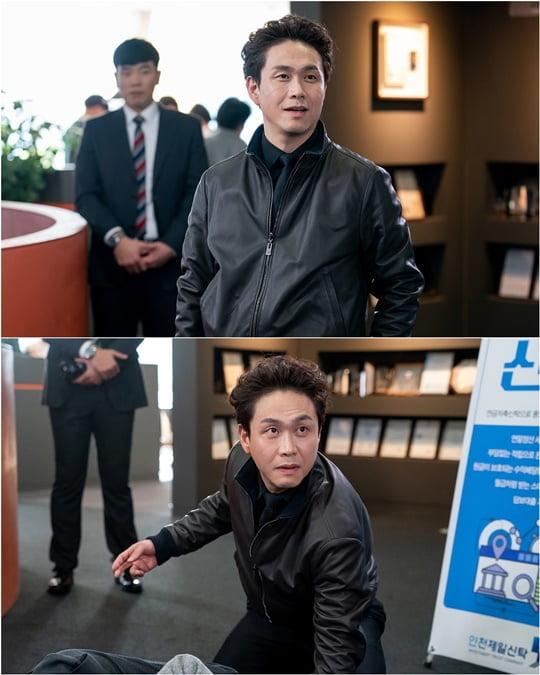 모범형사 오정세 (사진=블러썸스토리, JTBC스튜디오)