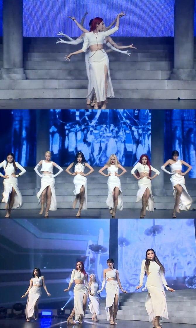 여자친구, 신곡 `Apple` 마녀 퍼포먼스에 반응 고조 #사과나무춤 #캣워크춤 #오르골춤