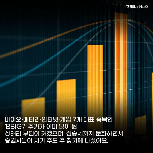[카드뉴스] 증권사가 꼽은 BBIG7 이을 주도 株는? : SPECIAL7 & 2·자·바·커