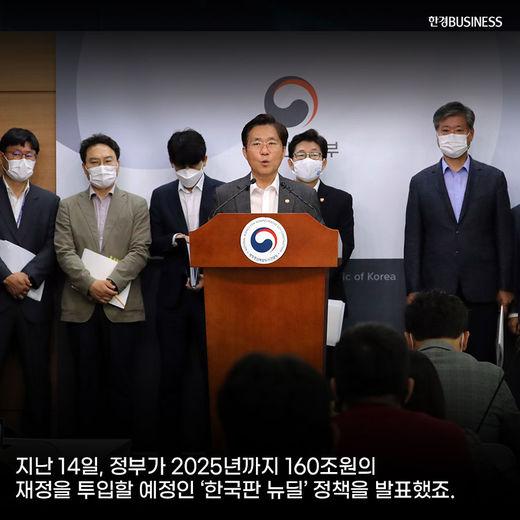 [카드뉴스] 한국판 뉴딜 정책 관련주에 들썩이는 증시. 제 2의 BBIG 될까?