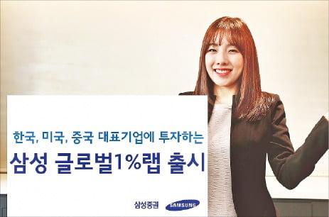 삼성증권, 韓·美·中 대표 기업 한 개씩 선정해 투자