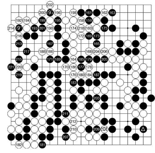 [제24기 하림배 프로여자국수전] 黑, 꽉 잠근 승리