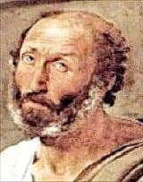 아리스토텔레스 (기원전 384~322)  고대 그리스 철학자로 과학기초이론을 세우고 논리학이란 학문도 창시했다.