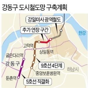 고덕비즈밸리, 전철 5·8·9호선 연장…서울 동부권 중심지 '도약'