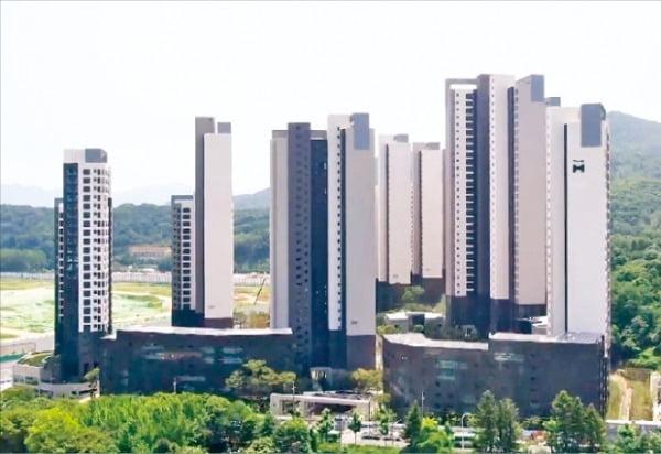 지난달 서울 강남구 아파트의 약 3분의 1을 지방 등 외지인이 사들인 것으로 나타났다. 강남구 개포동 '디에이치 아너힐즈'.  한경DB