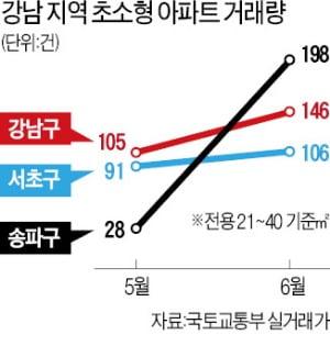 '똘똘한 한 채' 찾아…강남 초소형 거래 급증