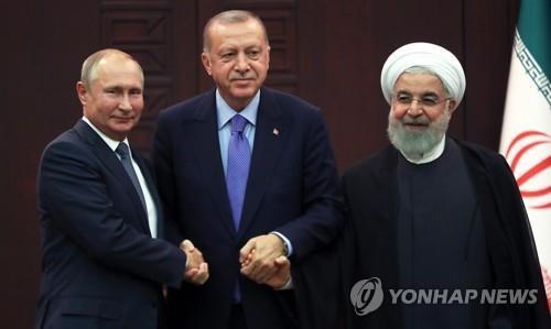 러시아·터키·이란 정상 시리아 관련 화상정상회담 개최
