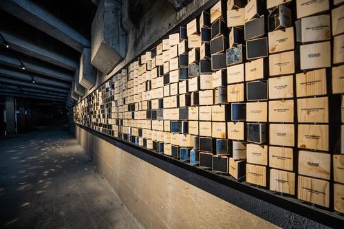50년간 버려진 서울 유진상가 지하, 빛 흐르는 예술공간 됐다