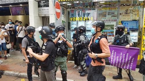 [르포] 홍콩보안법 서슬에도 침묵 거부한 홍콩인들 '저항의 함성'