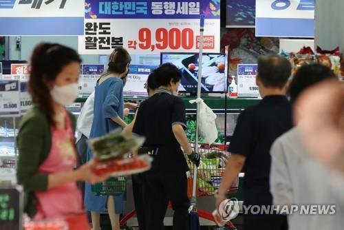 광주 소매·유통업 경기 전망 '먹구름 여전'…4분기 연속 부진