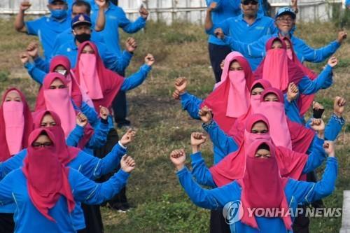 인도네시아, 롬복섬 女공무원에 '마스크 대신 니캅' 지시 논란