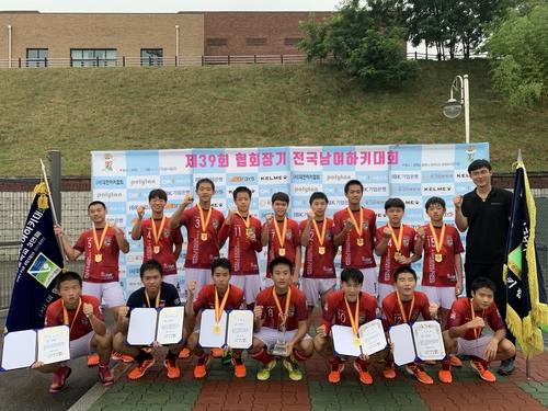 성남시청·평택시청, 협회장기 전국하키대회 남녀부 우승