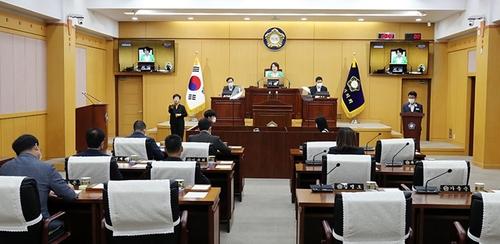 원 구성 갈등으로 파행하는 서산시의회…조례안 처리 지연