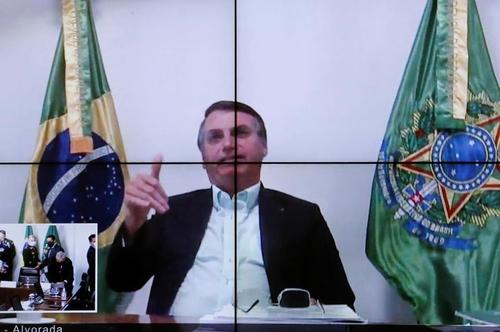 코로나19 걸렸던 브라질 대통령 3주만에 정상업무 복귀