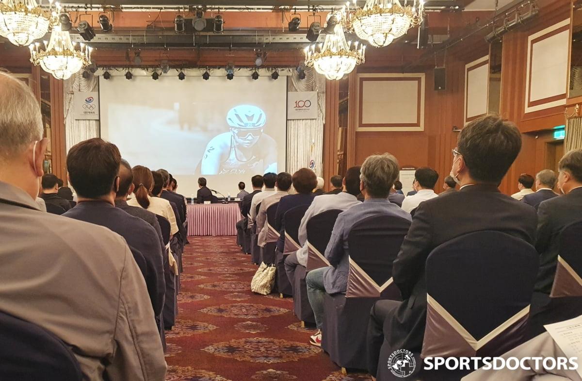스포츠닥터스 허준영 이사장, 스포츠폭력 추방 비상대책 회의 참석