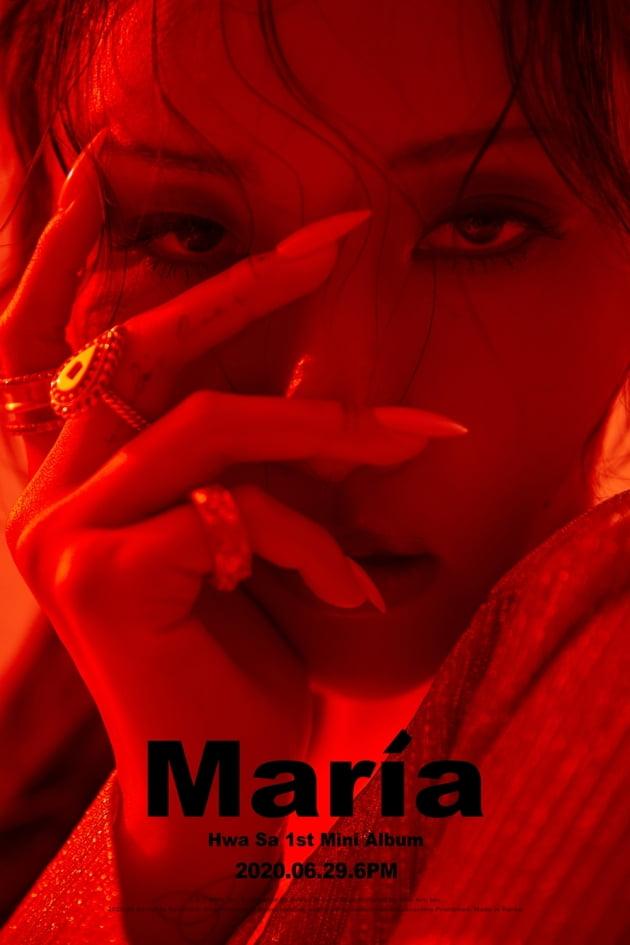 마마무 화사 'Maria', 美 빌보드 월드 디지털 송 세일즈 4주 연속 차트인
