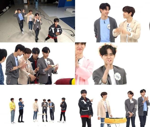 '주간아이돌' AB6IX / 사진 = MBC에브리원 영상 캡처