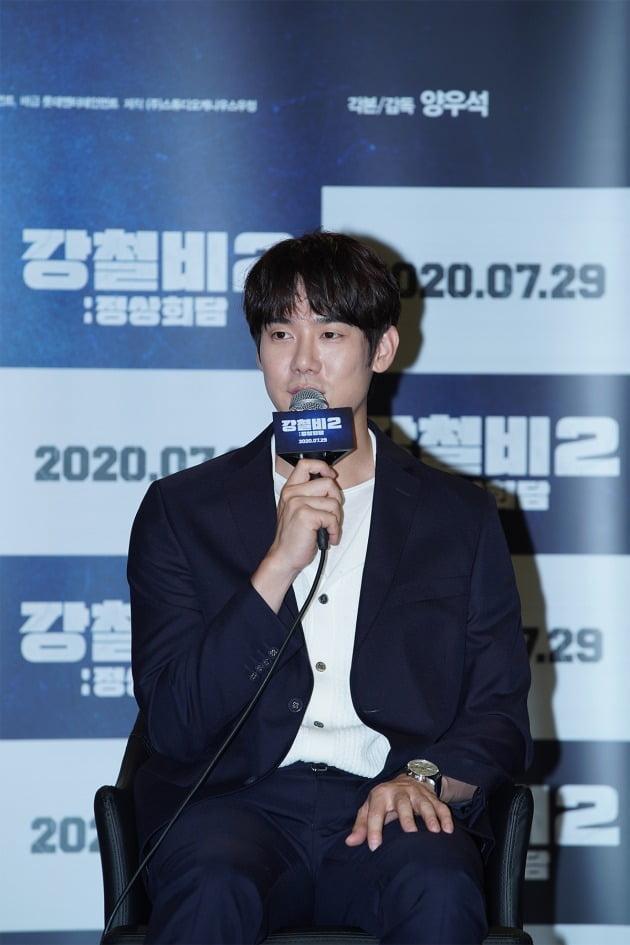 영화 '강철비2'의 유연석 / 사진제공=와이웍스엔터테인먼트, 롯데엔터테인먼트