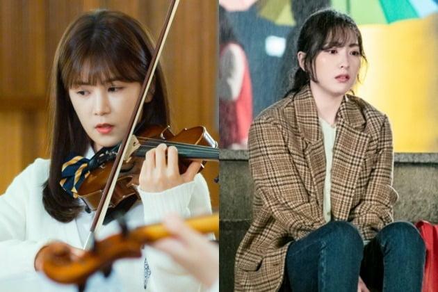 영화 '불량한 가족'의 박초롱(왼쪽)과 드라마 '야식남녀'의 강지영. / 사진제공=엔케이컨텐츠, 헬로콘텐츠