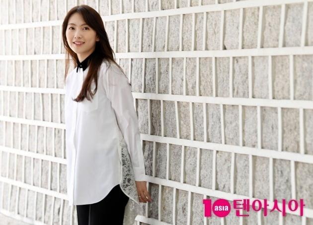 JTBC '야식남녀'에서 김아진 역을 맡아 열연한 배우 강지영./사진=조준원 기자 wizard333@