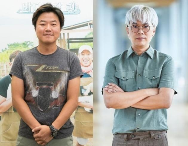 나영석 PD(왼쪽), 김태호 PD./