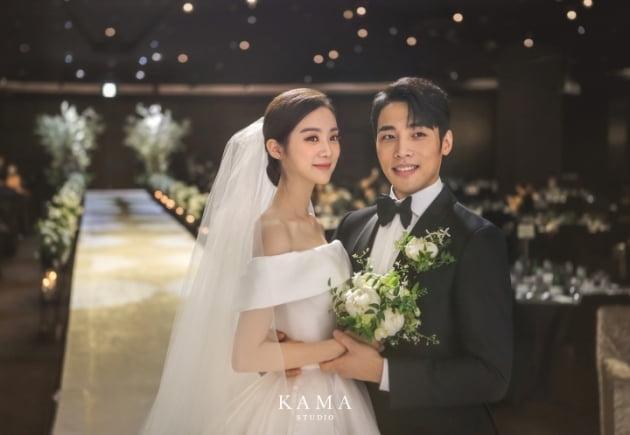 우혜림·신민철 결혼식 / 사진=르 엔터테인먼트 제공