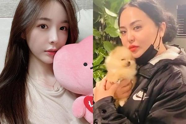 '하트시그널3' 출연자 천안나(왼쪽), '미우새' 출연자 홍선영/ 사진=각 인스타그램 캡처