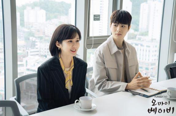 '오 마이 베이비' 현장 스틸컷. /사진제공=tvN