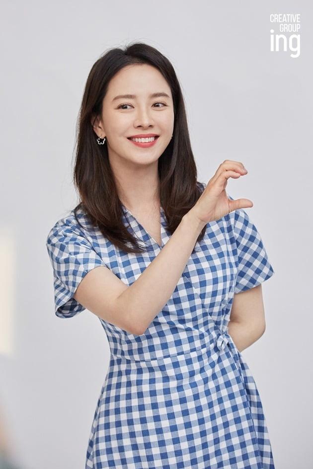 배우 송지효 / 사진제공=크리에이티브 그룹 아이엔지
