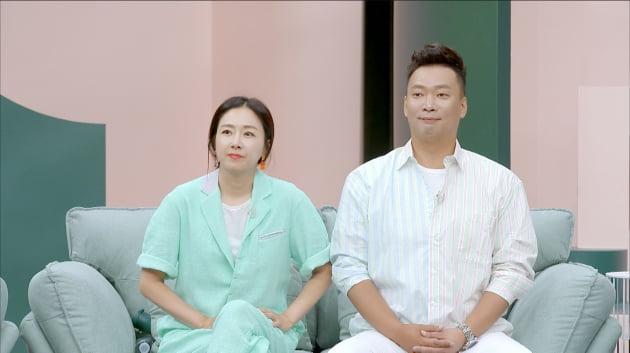개그맨 김지혜·박준형 부부/ 사진=JTBC 제공