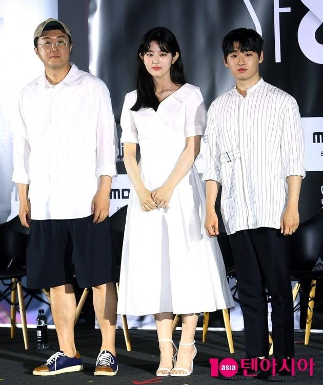 안국진 감독, 배우 신은수, 이다윗./사진=서예진 기자 yejin@