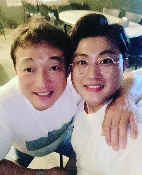 이재룡 김호중 / 사진 = 김호중 인스타그램
