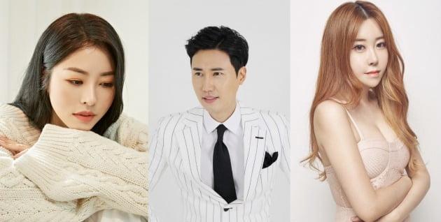 방송인 겸 변호사 서동주(왼쪽부터), 가수 신성, 숙희 / 사진제공=스타리움엔터테인먼트